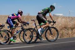 Los Angeles Vuelta, Hiszpania - Scena 5 w Cadiz prowinci 26th 2015 Sierpień Obraz Stock