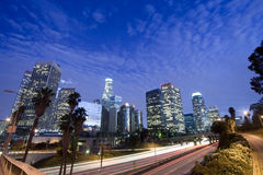 Los Angeles wide angle view Stock Photography