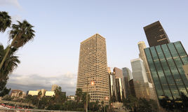 Los Angeles wide angle view Royalty Free Stock Images