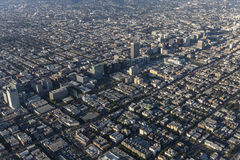 Los Angeles Wilshire Blvd and Koretown Area Stock Photo