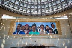 Los Angeles zjednoczenia staci malowidło ścienne Zdjęcie Royalty Free