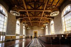Los Angeles zjednoczenia staci metkowanie Hall Obraz Stock