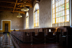 Los Angeles zjednoczenia staci metkowanie Hall Fotografia Stock