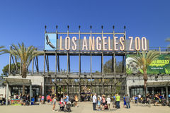 Los Angeles zoo Royaltyfria Foton