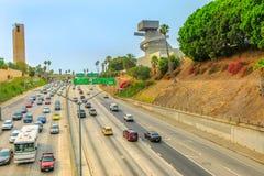 Los- Angelesautobahn lizenzfreie stockbilder