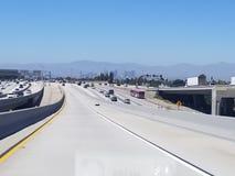 Los- Angelesautobahn Lizenzfreie Stockfotografie