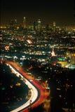 Los- Angelesnächtlicher Himmel Lizenzfreie Stockfotografie