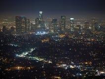 Los- Angelesnacht lizenzfreies stockfoto