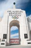 Los- Angelesolympisches Kolosseum Lizenzfreie Stockfotos