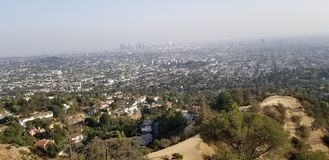 Los- AngelesStadtbild lizenzfreies stockfoto