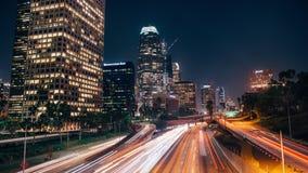 Los- Angeleswolkenkratzer stock video
