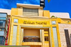 Kodak Theater Dolby where the annual Academy Award is presented. Los Angelos, California, USA - September 04, 2018: Kodak Theater Dolby where the annual Academy royalty free stock photography
