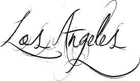 Los Angles sign Stock Images