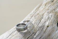 Los anillos Fotos de archivo