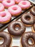 Los anillos de espuma con asperjan Fotografía de archivo libre de regalías