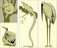 Los animales stock de ilustración
