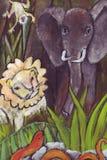 Los animales salvajes ilustración del vector