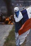 Los Anti-E.E.U.U. Demo Panama City 1996 foto de archivo libre de regalías