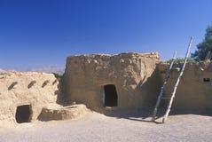 Los antiguos, ruinas del indio en UT meridional Foto de archivo