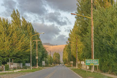 Los Antiguos Town, Santa Cruz, Argentina royalty free stock photos