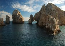 Los Arcos Cabo San Lucas stock photo