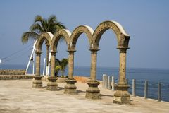 Los Arcos in Mexico Stock Photos