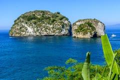 Los Arcos Puerto Vallarta, Mexico. Los Arcos National Marine Park royalty free stock photos