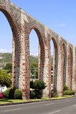 Los Arcos of Queretaro. The Los Arcos (aqueduct) in Queretaro, Mexico. Constructed between 1726 and 1735 royalty free stock images