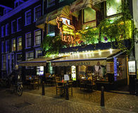 Los Argentinos restauracja w Amsterdam fotografia royalty free