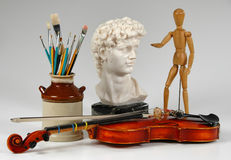 Los artes junto Foto de archivo libre de regalías