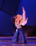 Los artes- marciales de las mujeres bailan drama la leyenda de los héroes del cóndor Fotografía de archivo