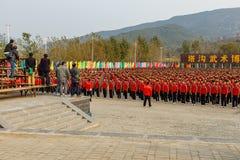 Los artes marciales ense?an Shaolin imagen de archivo libre de regalías