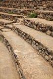 Los asientos del teatro Ephesus de Odean Fotos de archivo libres de regalías