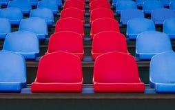 Los asientos en el estadio Imagen de archivo libre de regalías