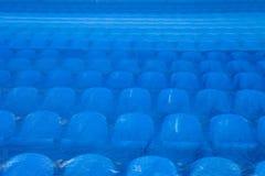 Los asientos en el estadio debajo de la película Mundial 2018 de la FIFA fotos de archivo libres de regalías