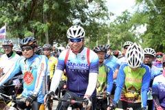 Los atletas aficionados de diversos grupos en Pluak Daeng participaron en la actividad Imagen de archivo libre de regalías