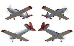 Los aviones de aviación general rinden Imagen de archivo libre de regalías