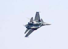 Los aviones de combate de Sukhoi-30 MK I en la aero- India muestran 2013 Fotos de archivo