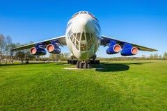 Los aviones de Ilyushin Il-76 Imagen de archivo libre de regalías