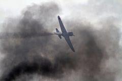Los aviones de la Segunda Guerra Mundial promulgan de nuevo ataque del Pearl Harbor Foto de archivo