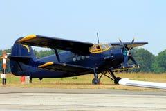 Los aviones de los deportes en el aeropuerto, Imagen de archivo libre de regalías