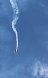 Los aviones que caen Imagenes de archivo