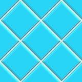 Los azulejos azules inconsútiles texture el fondo Fotos de archivo libres de regalías