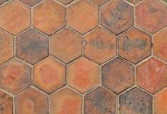 Los azulejos hexagonales Imágenes de archivo libres de regalías