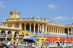 Los baños de Budapest Szechenyi imagen de archivo libre de regalías