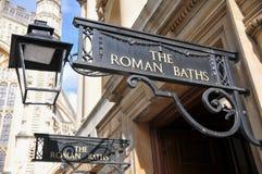 Los baños romanos Fotos de archivo libres de regalías
