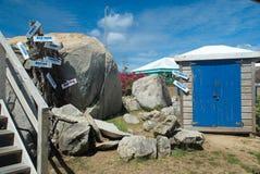 Los baños, Virgin Gorda, BVI imagen de archivo libre de regalías