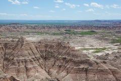 Los Badlands Imagenes de archivo