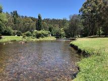 Los bancos del río de Jamieson imagenes de archivo