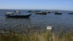 Los barcos de Fisher Imágenes de archivo libres de regalías